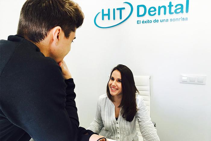 Recepción Hit dental